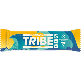 TRIBE Vegan Energy Bar Box 16x42g / MHD Aug 20, cacao/almond